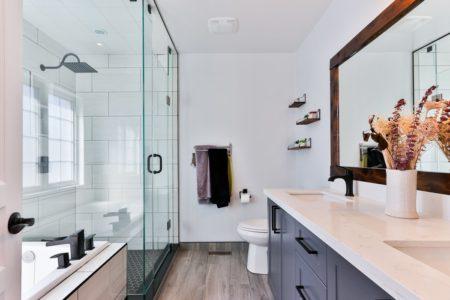 les cabines de douche